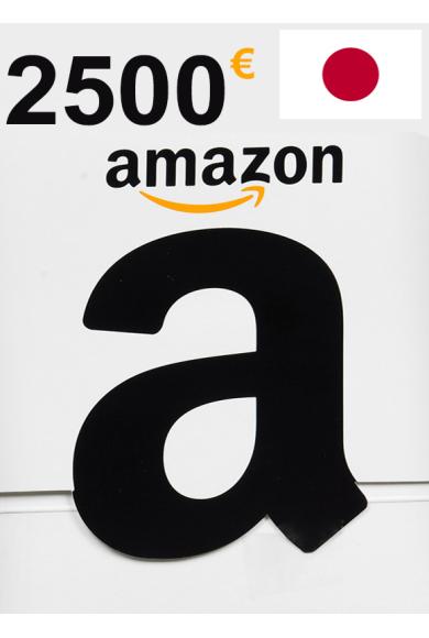 Amazon 2500 (YEN) (Japan) Gift Card