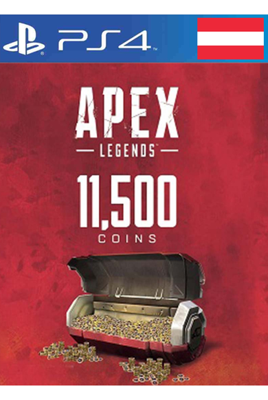 Apex Legends: 11500 Apex Coins (PS4) (Austria)
