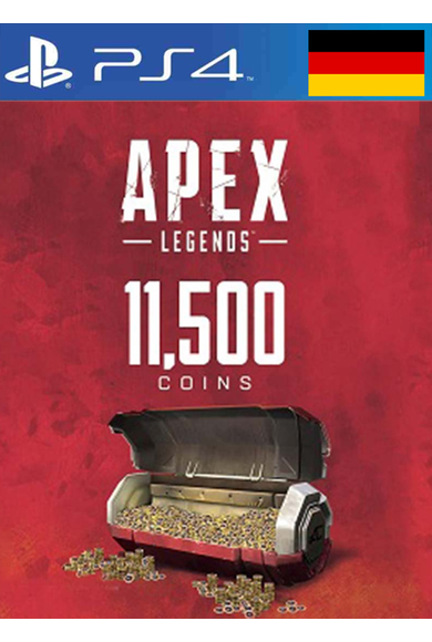 Apex Legends: 11500 Apex Coins (PS4) (Germany)