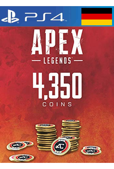 Apex Legends: 4350 Apex Coins (PS4) (Germany)