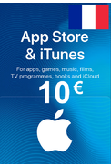 Apple iTunes Gift Card - 10€ (EUR) (France) App Store