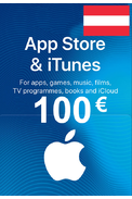 Apple iTunes Gift Card - 100€ (EUR) (Austria) App Store