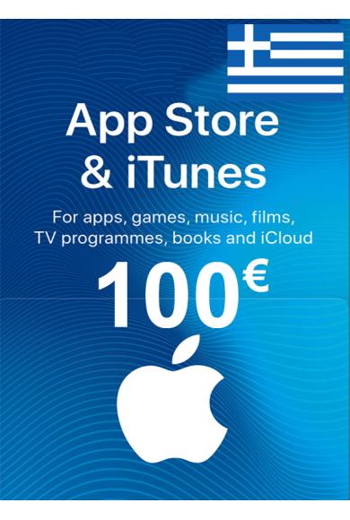 Apple iTunes Gift Card - 100€ (EUR) (Greece) App Store
