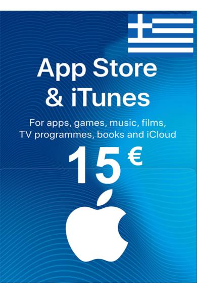 Apple iTunes Gift Card - 15€ (EUR) (Greece) App Store