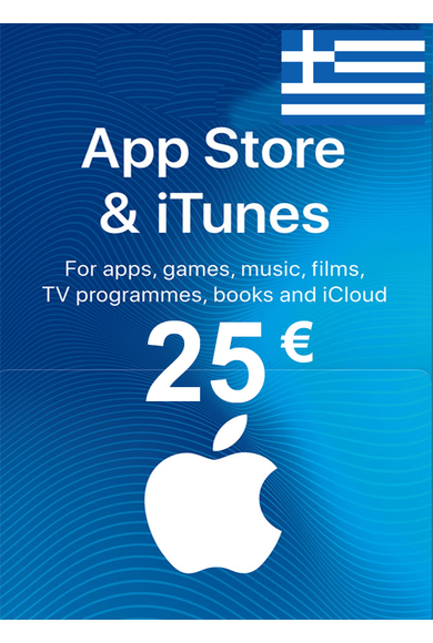 Apple iTunes Gift Card - 25€ (EUR) (Greece) App Store