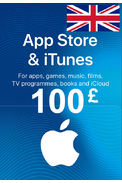 Apple iTunes Gift Card - £100 (GBP) (UK/United Kingdom) App Store