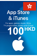 Apple iTunes Gift Card - 100 (HKD) (Hong Kong) App Store