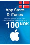 Apple iTunes Gift Card - 100 (NOK) (Norway) App Store