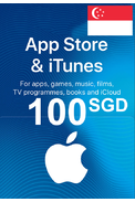 Apple iTunes Gift Card - 100 (SGD) (Singapore) App Store