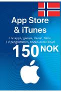 Apple iTunes Gift Card - 150 (NOK) (Norway) App Store