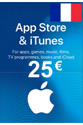 Apple iTunes Gift Card - 25€ (EUR) (France) App Store