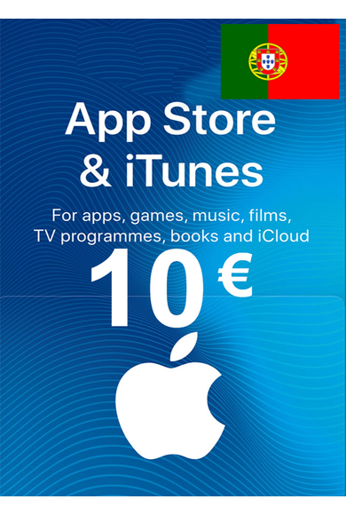 Apple iTunes Gift Card - 10€ (EUR) (Portugal) App Store