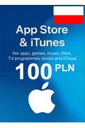 Apple iTunes Gift Card - 100 (PLN) (Poland) App Store