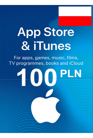 Apple iTunes Gift Card - 100 (PLN) (Poland) App Store