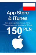 Apple iTunes Gift Card - 150 (PLN) (Poland) App Store