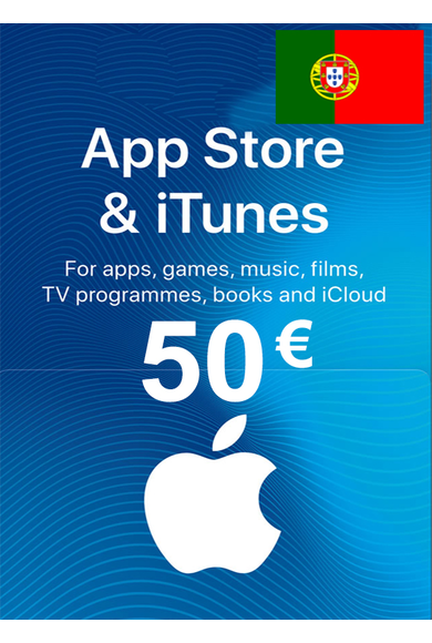 Apple iTunes Gift Card - 50€ (EUR) (Portugal) App Store