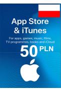 Apple iTunes Gift Card - 50 (PLN) (Poland) App Store