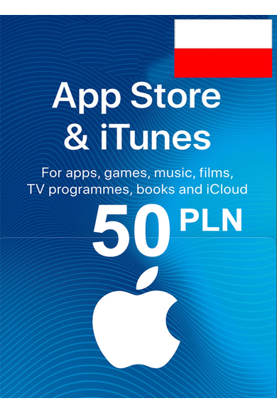 Apple iTunes Gift Card - 50 (PLN) (Poland) App Store