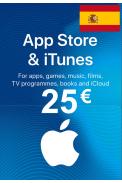 Apple iTunes Gift Card - 25€ (EUR) (Spain) App Store