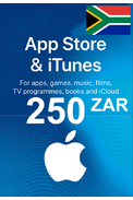 Apple iTunes Gift Card - 250 (ZAR) (South Africa) App Store