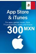 Apple iTunes Gift Card - 300 (MXN) (Mexico) App Store