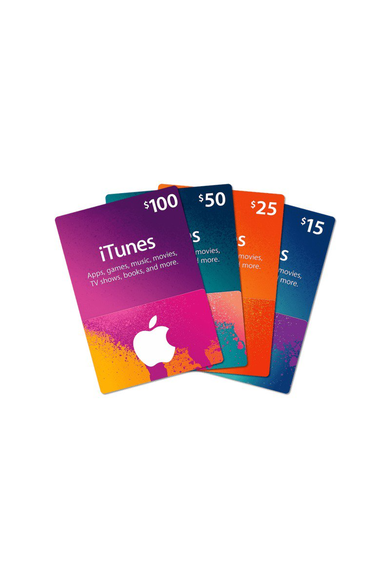 Apple iTunes Gift Card - $300 (USD) (USA/North America) App Store