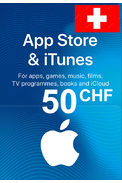 Apple iTunes Gift Card - 50 (CHF) (Switzerland) App Store