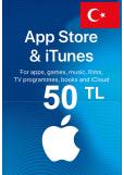 Apple iTunes Gift Card - 50 (TL) (Turkey) App Store