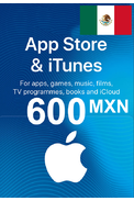 Apple iTunes Gift Card - 600 (MXN) (Mexico) App Store