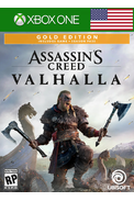 Assassin's Creed Valhalla - Gold Edition (USA) (Xbox One)