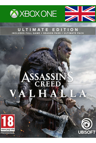 Assassin's Creed Valhalla - Ultimate Edition (UK) (Xbox One)