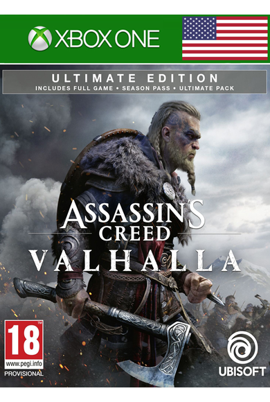 Assassin's Creed Valhalla - Ultimate Edition (USA) (Xbox One)
