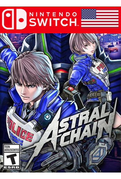 Astral Chain (USA) (Switch)