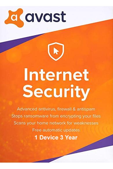 AVAST Internet Security - 1 Device 3 Year