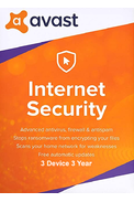 AVAST Internet Security - 3 Device 3 Year