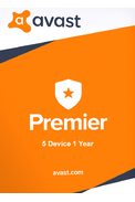 Avast Premier - 5 Device 1 Year
