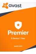Avast Premier - 5 Device 1 Year
