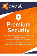 Avast Premium Security - 1 Device 1 Year
