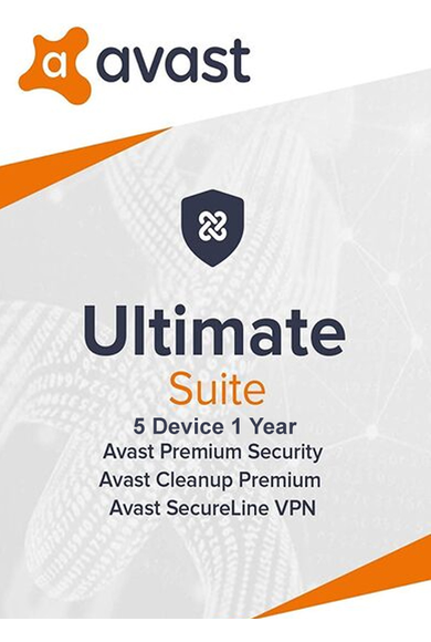 Avast Ultimate - 5 Device 1 Year