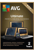 AVG Ultimate 2019 - Unlimited Devices 2 Year