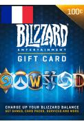 BATTLE.NET GIFT CARD 100€ (EUR) (France)