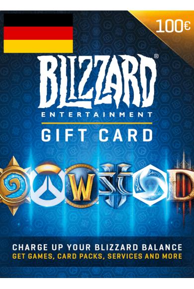 Battle.net Gift Card 100€ (EUR) (Germany)