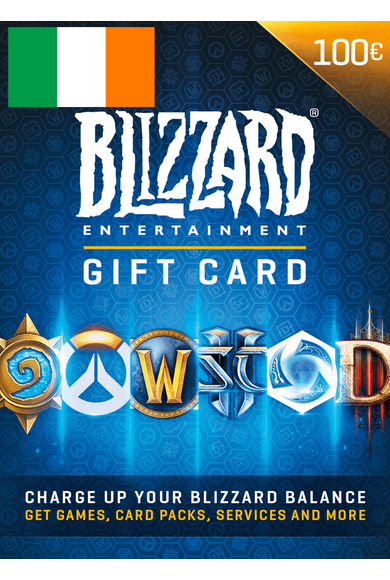BATTLE.NET GIFT CARD 100€ (EUR) (Ireland)