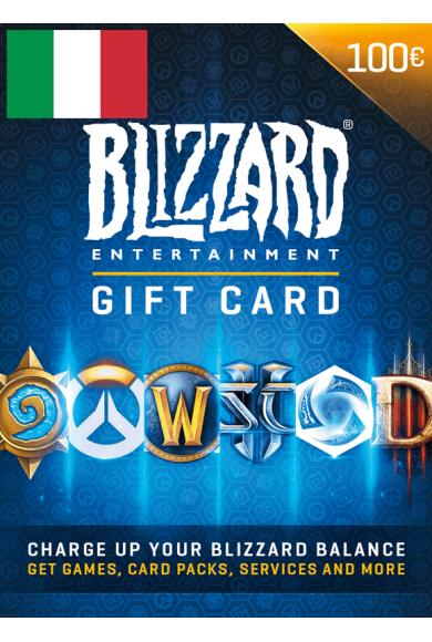 BATTLE.NET GIFT CARD 100€ (EUR) (Italy)