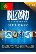 BATTLE.NET GIFT CARD 100€ (EUR) (Portugal)