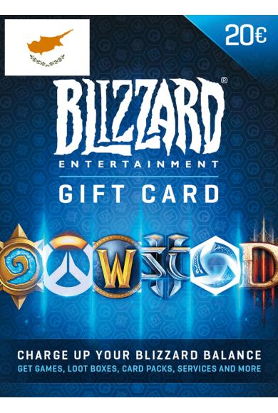 Battle.net Gift Card 20€ (EUR) (Cyprus)