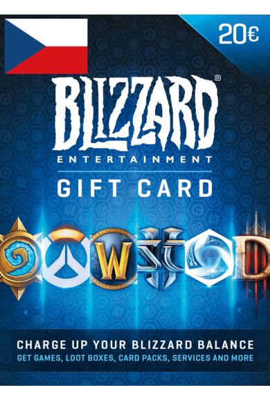 Battle.net Gift Card 20€ (EUR) (Czech Republic)