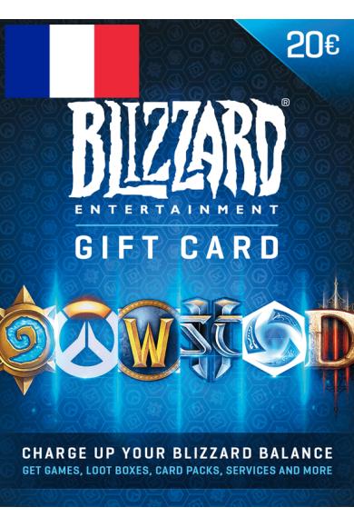 BATTLE.NET GIFT CARD 20€ (EUR) (France)