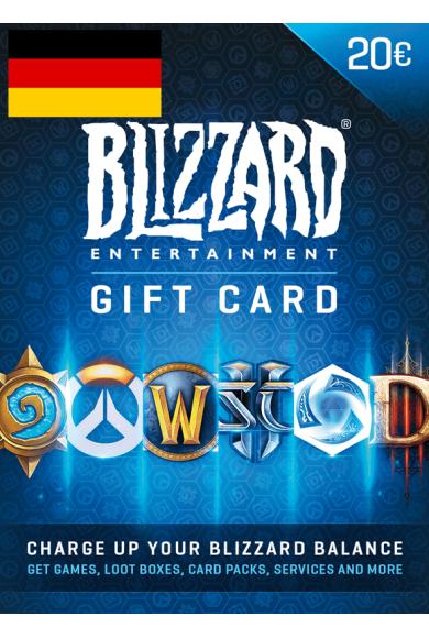 Battle.net Gift Card 20€ (EUR) (Germany)
