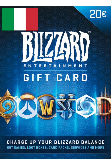 BATTLE.NET GIFT CARD 20€ (EUR) (Italy)